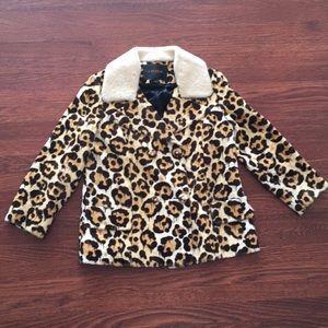 Coach 1941 RTW Spring 2015 Leopard Print Jacket